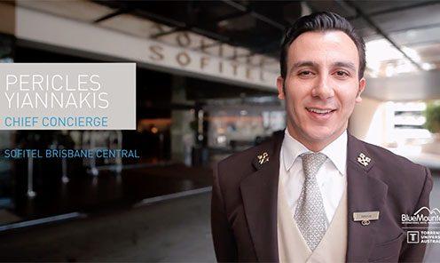 Meet Perry, Chief Concierge