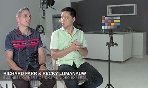 Meet Richard & Recky, Owners